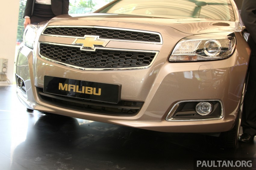 Chevrolet Malibu launched in Malaysia – 2.4L, RM155k Image #268271