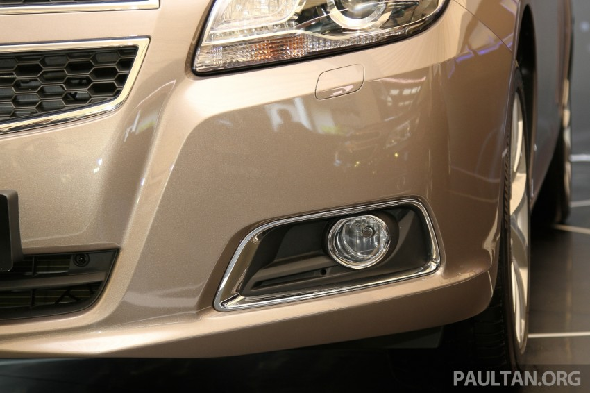 Chevrolet Malibu launched in Malaysia – 2.4L, RM155k Image #268268