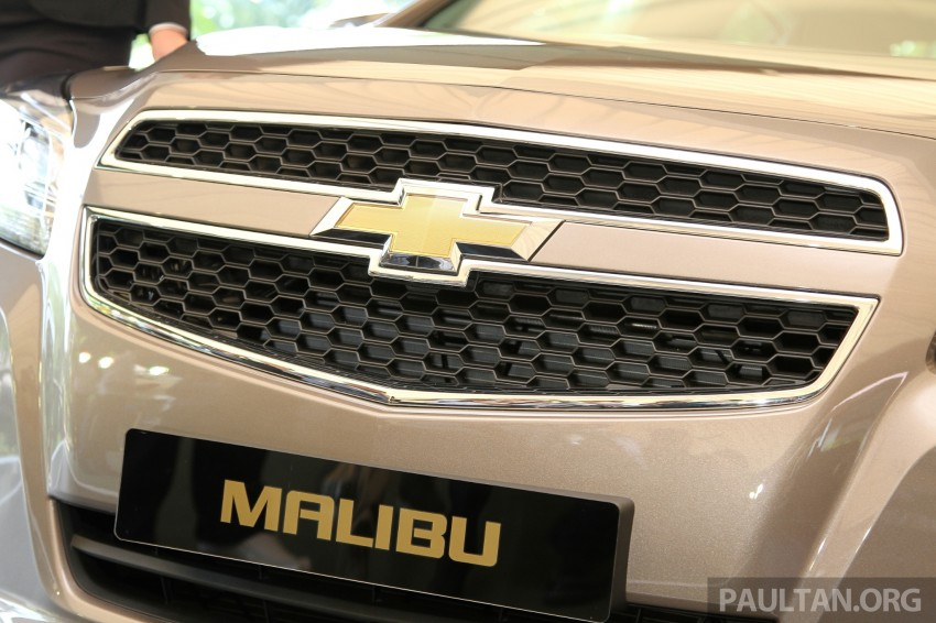 Chevrolet Malibu launched in Malaysia – 2.4L, RM155k Image #268269