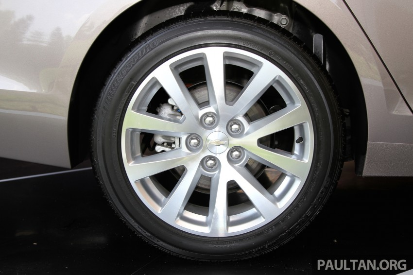 Chevrolet Malibu launched in Malaysia – 2.4L, RM155k Image #268267