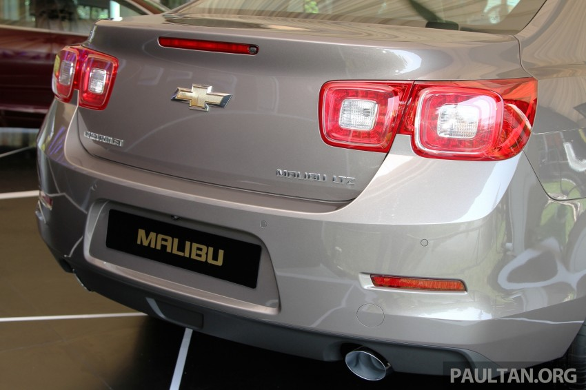Chevrolet Malibu launched in Malaysia – 2.4L, RM155k Image #268263
