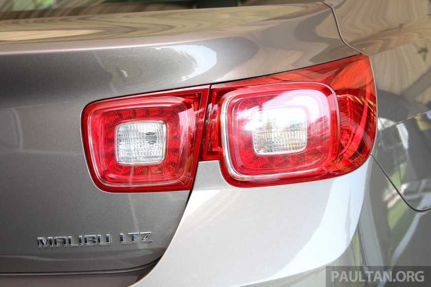 Chevrolet Malibu launched in Malaysia – 2.4L, RM155k Image #268264