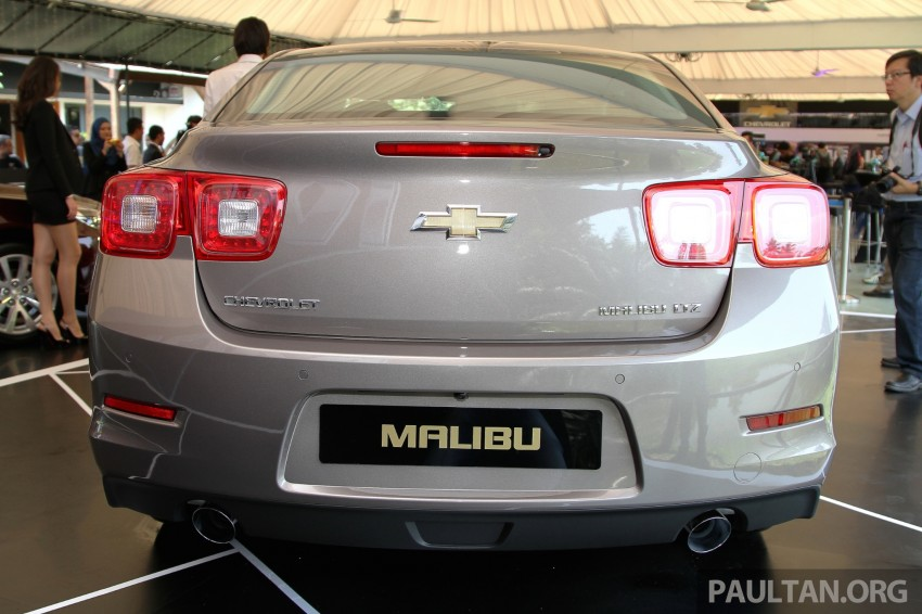 Chevrolet Malibu launched in Malaysia – 2.4L, RM155k Image #268259