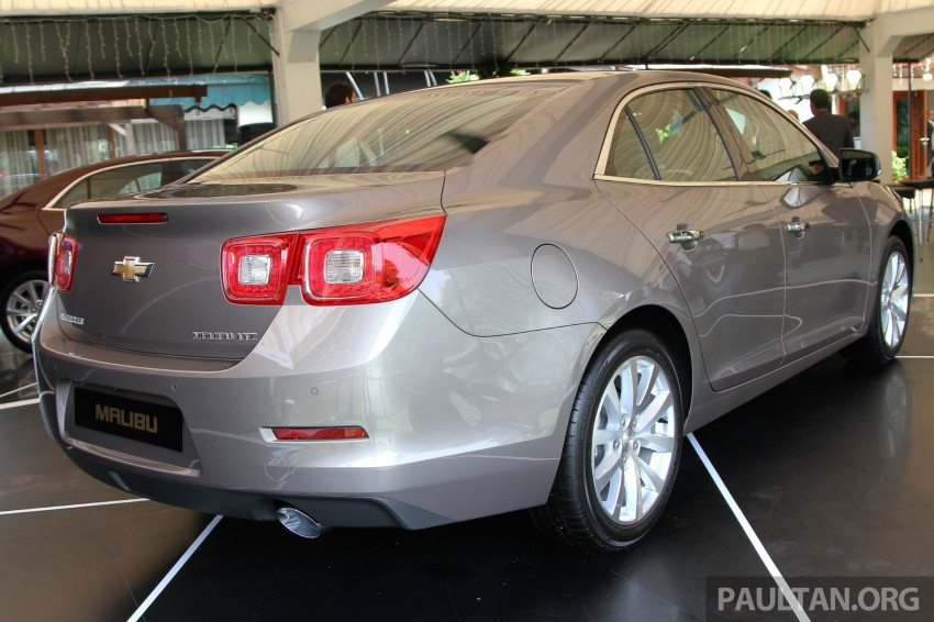 Chevrolet Malibu launched in Malaysia – 2.4L, RM155k Image #268260