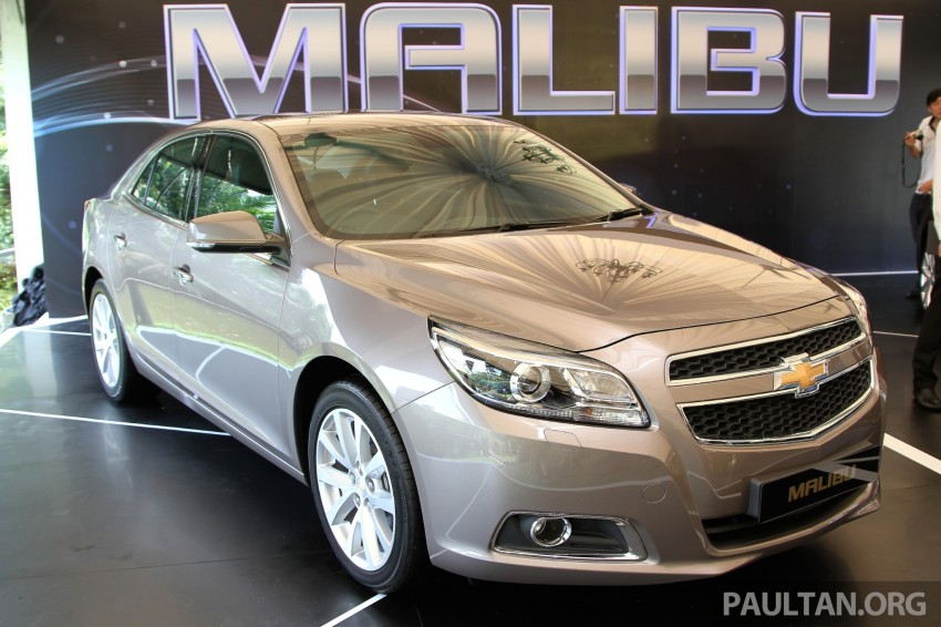 Chevrolet Malibu launched in Malaysia – 2.4L, RM155k Image #268261