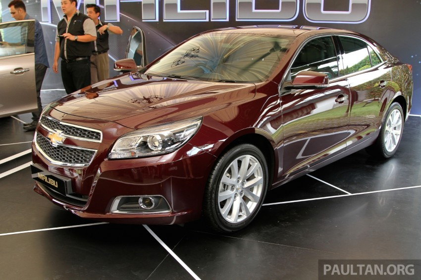 Chevrolet Malibu launched in Malaysia – 2.4L, RM155k Image #268256