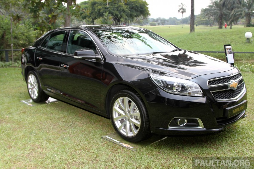 Chevrolet Malibu launched in Malaysia – 2.4L, RM155k Image #268253