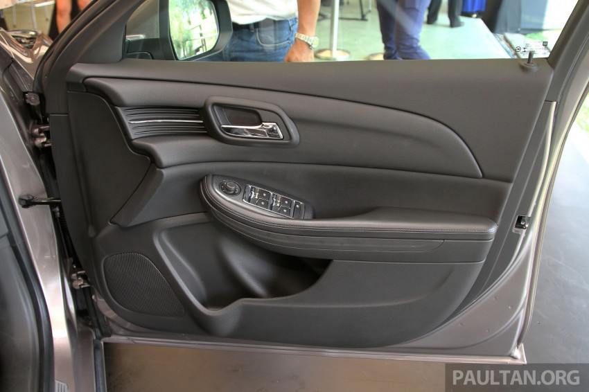 Chevrolet Malibu launched in Malaysia – 2.4L, RM155k Image #268244