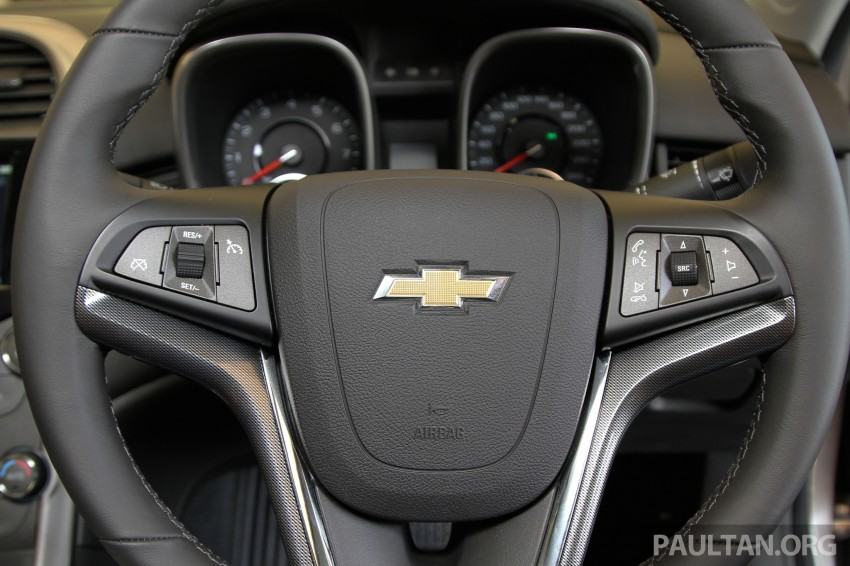 Chevrolet Malibu launched in Malaysia – 2.4L, RM155k Image #268234