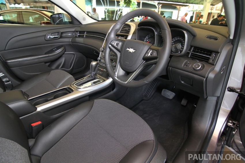 Chevrolet Malibu launched in Malaysia – 2.4L, RM155k Image #268232