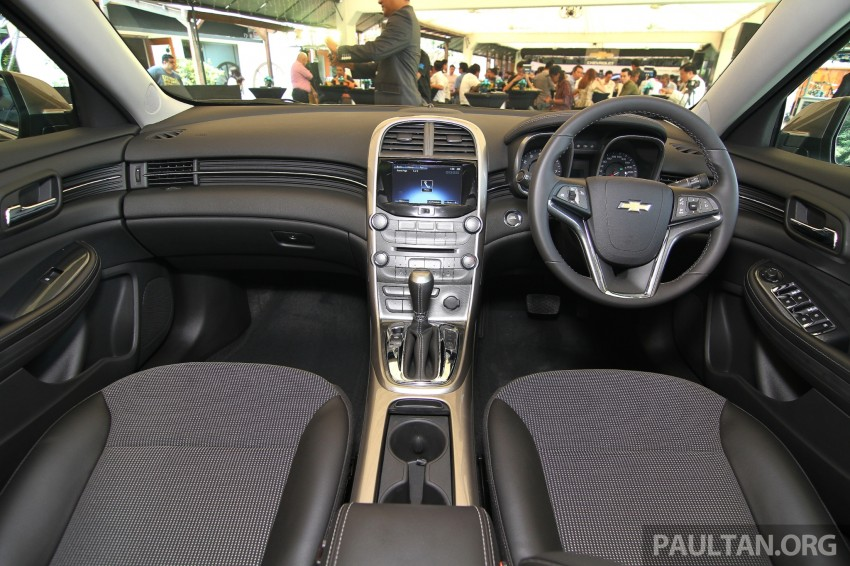 Chevrolet Malibu launched in Malaysia – 2.4L, RM155k Image #268229