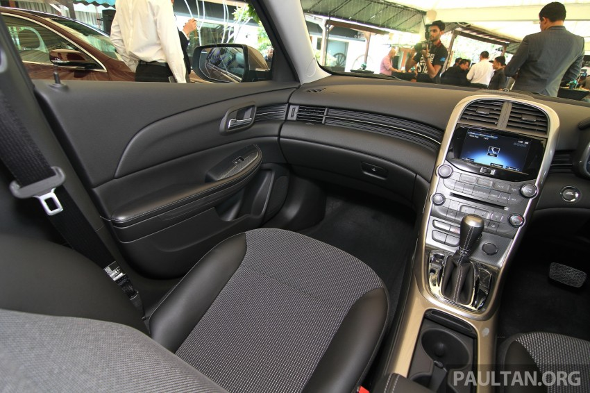 Chevrolet Malibu launched in Malaysia – 2.4L, RM155k Image #268230