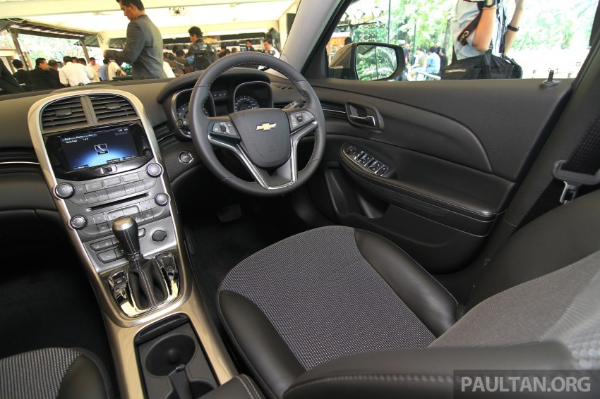 Chevrolet Malibu launched in Malaysia – 2.4L, RM155k Image #268228