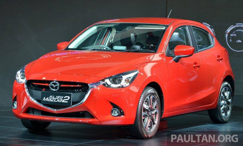 IIMS 2014: Thai-made Mazda 2 for ASEAN makes debut Image #274641