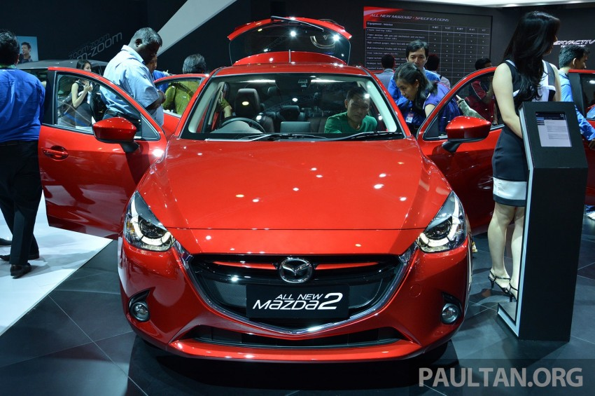 IIMS 2014: Thai-made Mazda 2 for ASEAN makes debut Image #274652