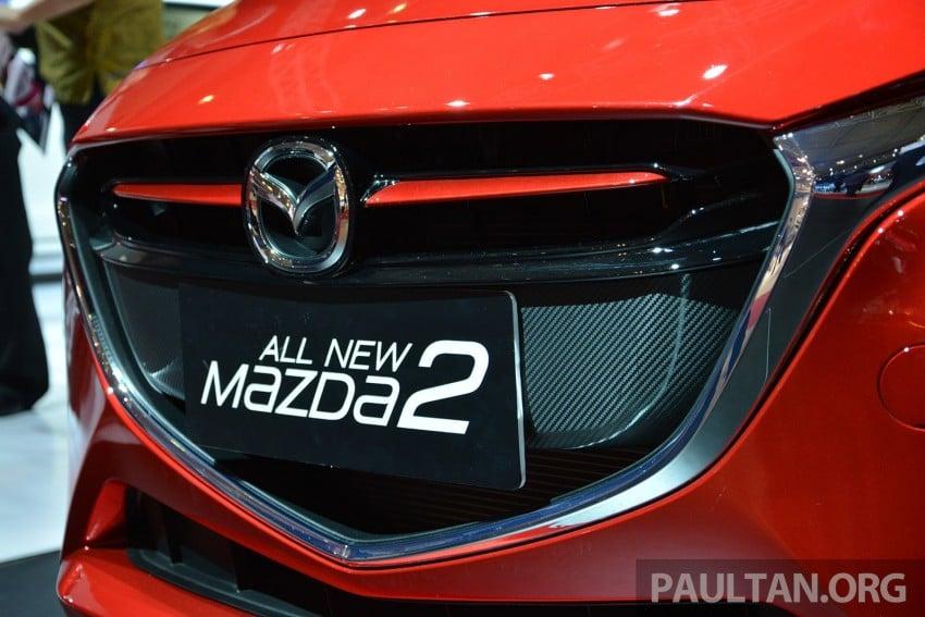 IIMS 2014: Thai-made Mazda 2 for ASEAN makes debut Image #274655