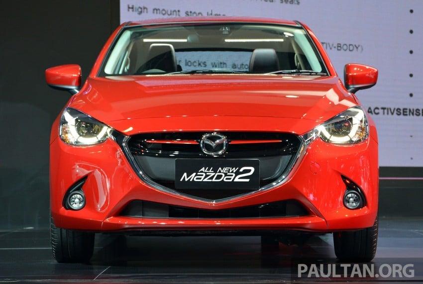 IIMS 2014: Thai-made Mazda 2 for ASEAN makes debut Image #274656