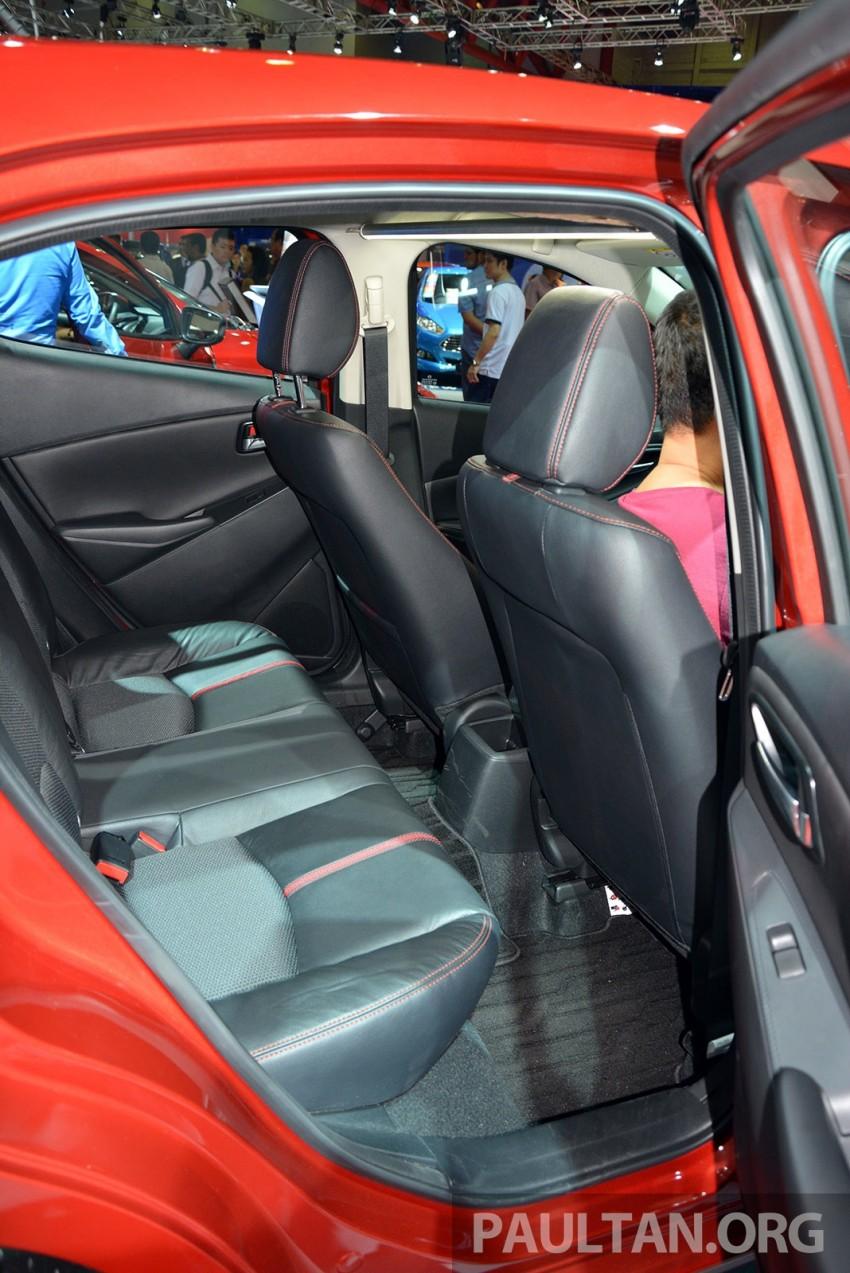 IIMS 2014: Thai-made Mazda 2 for ASEAN makes debut Image #274648