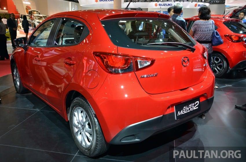 IIMS 2014: Thai-made Mazda 2 for ASEAN makes debut Image #274635