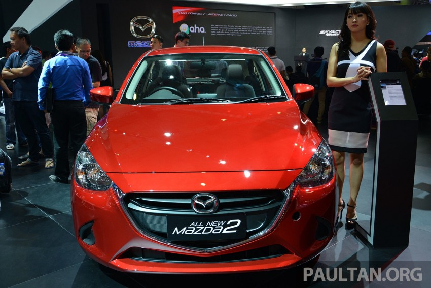IIMS 2014: Thai-made Mazda 2 for ASEAN makes debut Image #274637