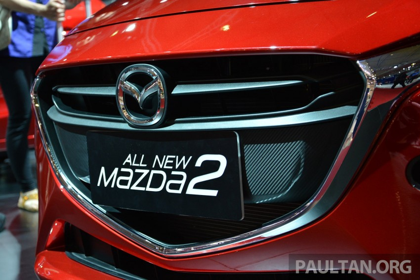 IIMS 2014: Thai-made Mazda 2 for ASEAN makes debut Image #274639
