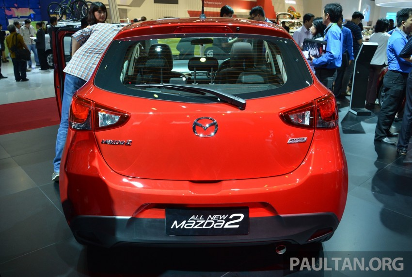 IIMS 2014: Thai-made Mazda 2 for ASEAN makes debut Image #274627