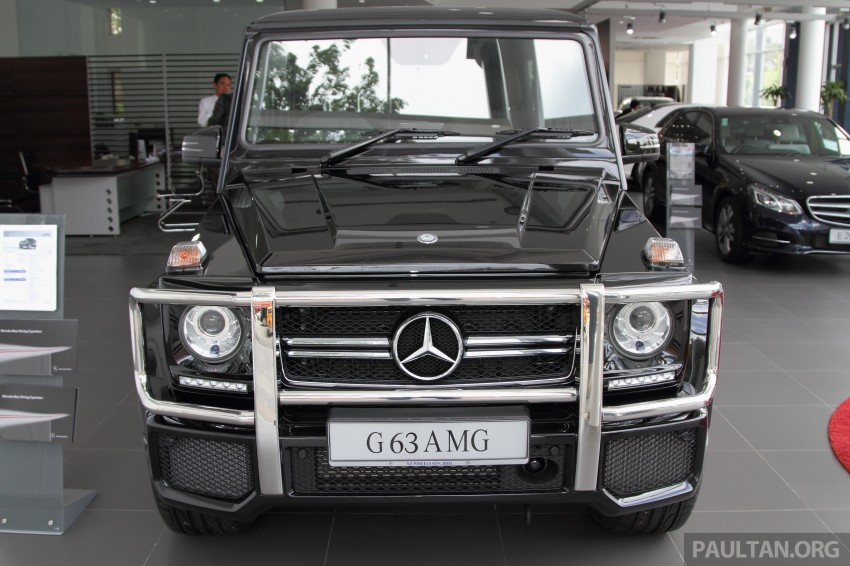 Mercedes-Benz G 63 AMG in Malaysia – RM1.1 million Image #270614