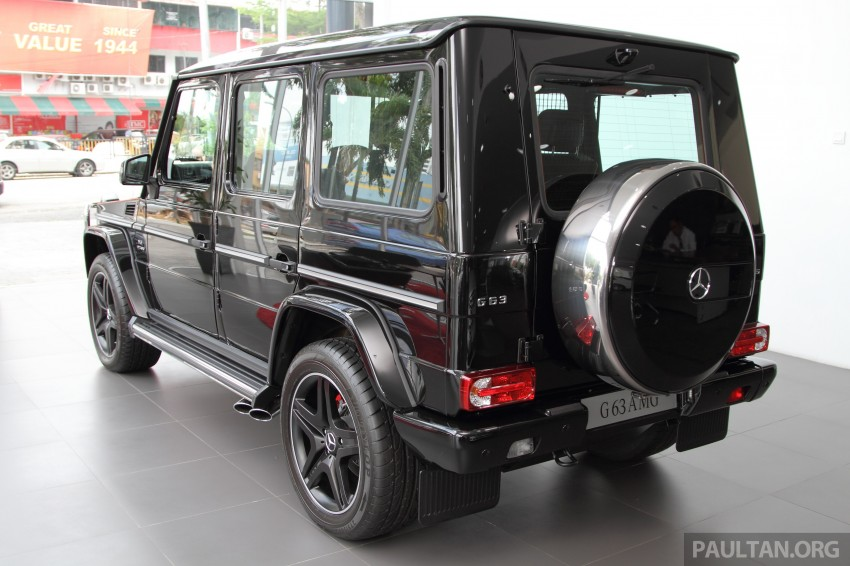 Mercedes-Benz G 63 AMG in Malaysia – RM1.1 million Image #270615