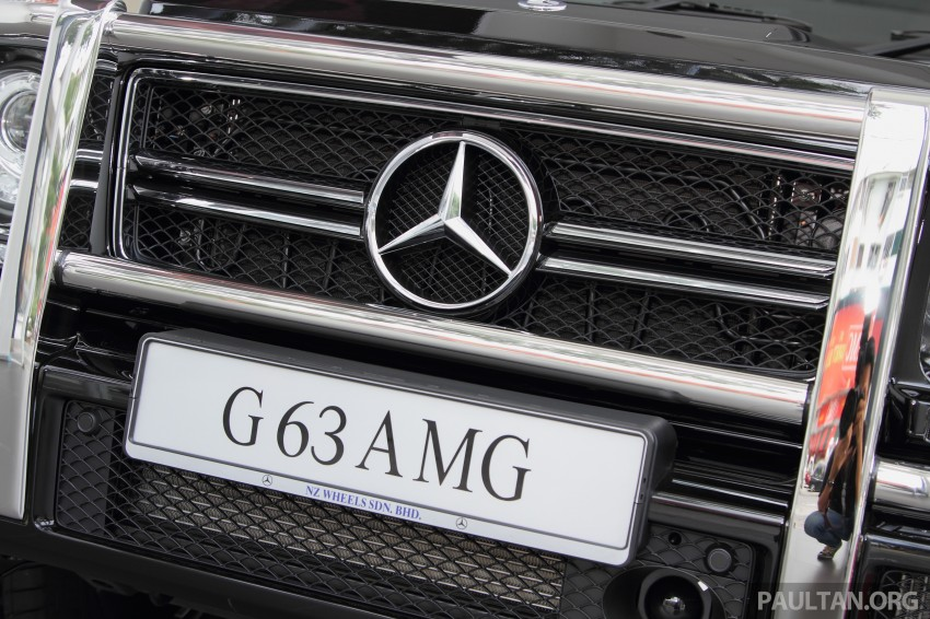 Mercedes-Benz G 63 AMG in Malaysia – RM1.1 million Image #270625