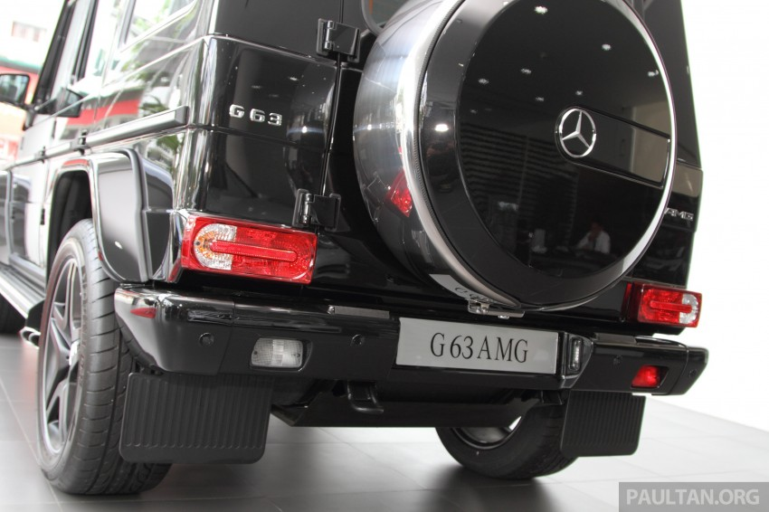 Mercedes-Benz G 63 AMG in Malaysia – RM1.1 million Image #270633
