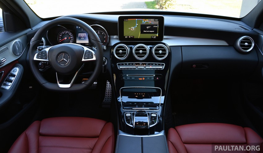 DRIVEN: W205 Mercedes-Benz C-Class in France Image #269430