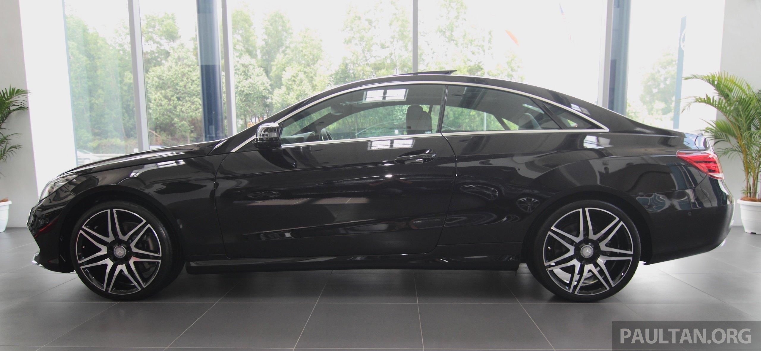 mercedes e 250 coupe facelift is here rm490 888 image 270918. Black Bedroom Furniture Sets. Home Design Ideas