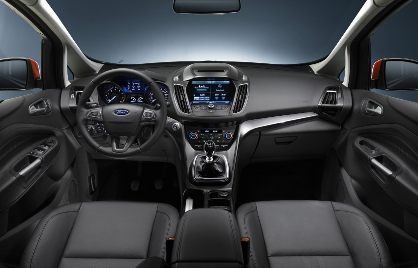 Ford C-MAX and Grand C-MAX – facelifted MPVs debut Image #272476