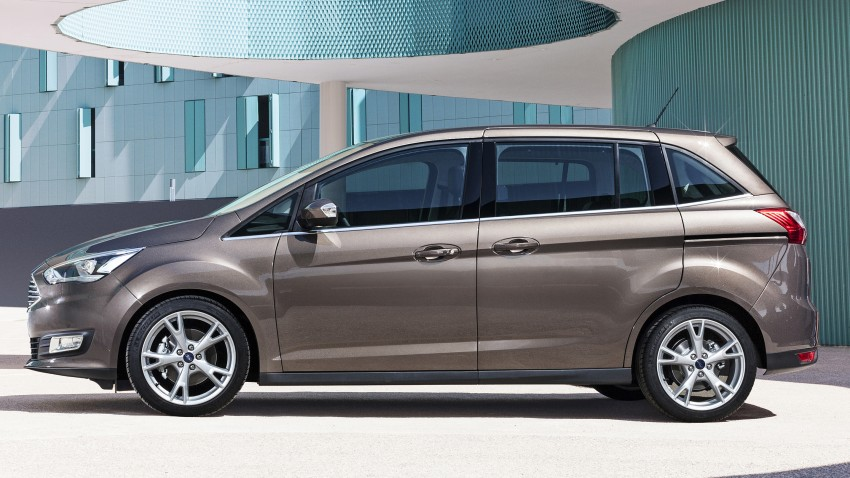 Ford C-MAX and Grand C-MAX – facelifted MPVs debut Image #272478