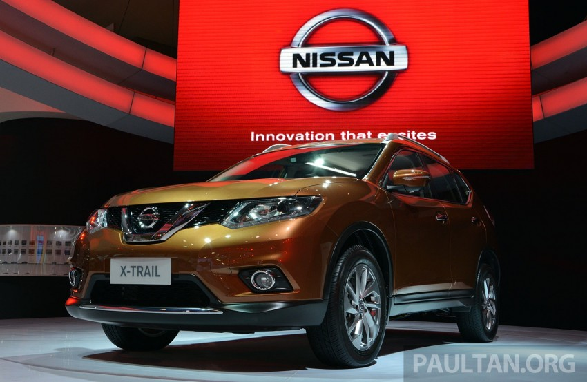 IIMS 2014: New Nissan X-Trail launched in Indonesia Image #274003