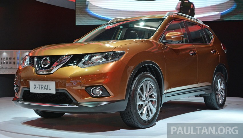 IIMS 2014: New Nissan X-Trail launched in Indonesia Image #274004