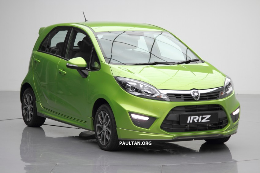 Proton Iriz launched – 1.3 and 1.6 VVT, from RM42k Image #275136