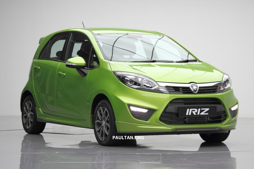 Proton Iriz launched – 1.3 and 1.6 VVT, from RM42k Image #275135
