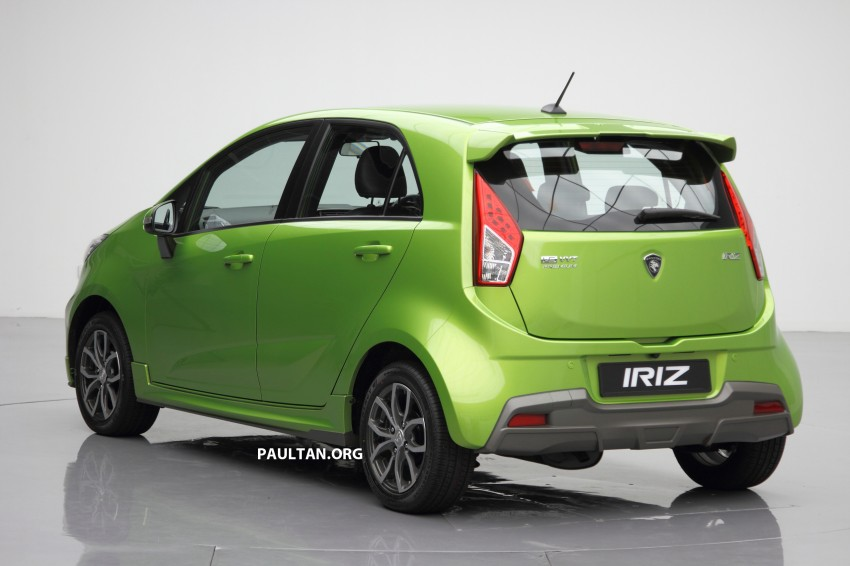 Proton Iriz launched – 1.3 and 1.6 VVT, from RM42k Image #275132