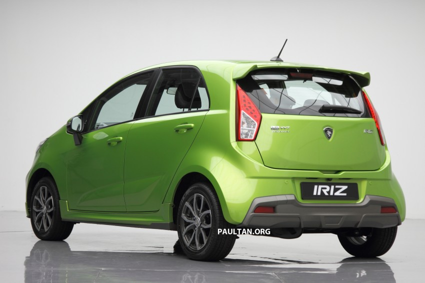 Proton Iriz launched – 1.3 and 1.6 VVT, from RM42k Image #275131