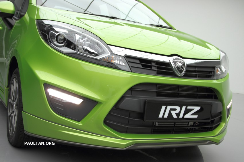 Proton Iriz launched – 1.3 and 1.6 VVT, from RM42k Image #275128