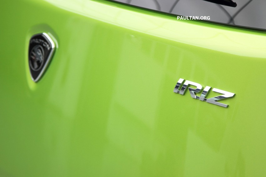 Proton Iriz launched – 1.3 and 1.6 VVT, from RM42k Image #275110