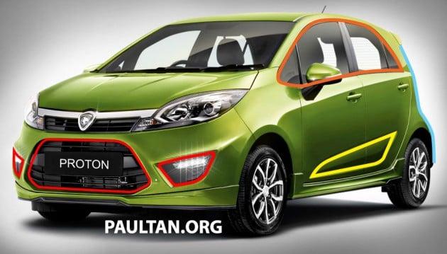 Proton Compact Car Evolution Of The Emas Concept