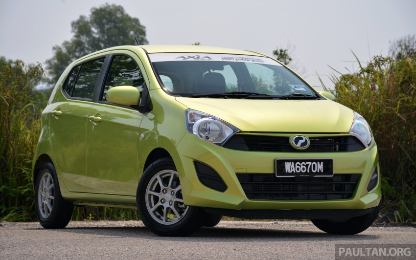 GALLERY: Perodua Axia vs Viva – a big leap forward? Image #274521