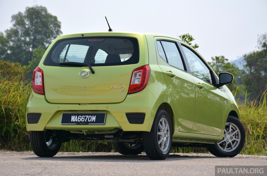 GALLERY: Perodua Axia vs Viva – a big leap forward? Image #274522