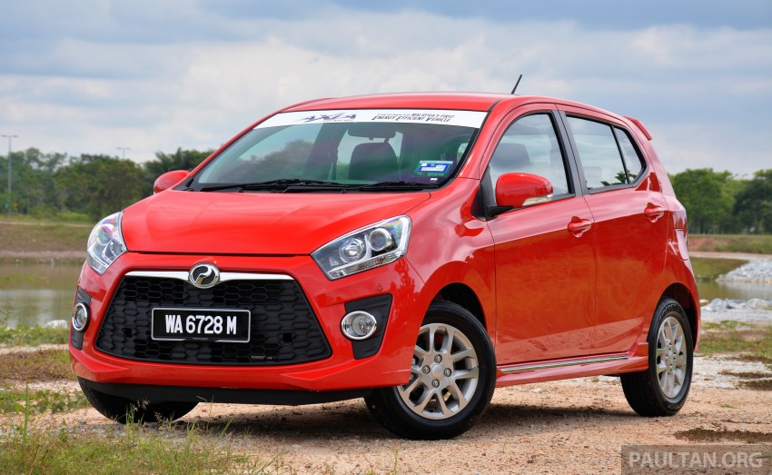 VIDEO: Perodua Axia Advance walk-around tour Image #273929