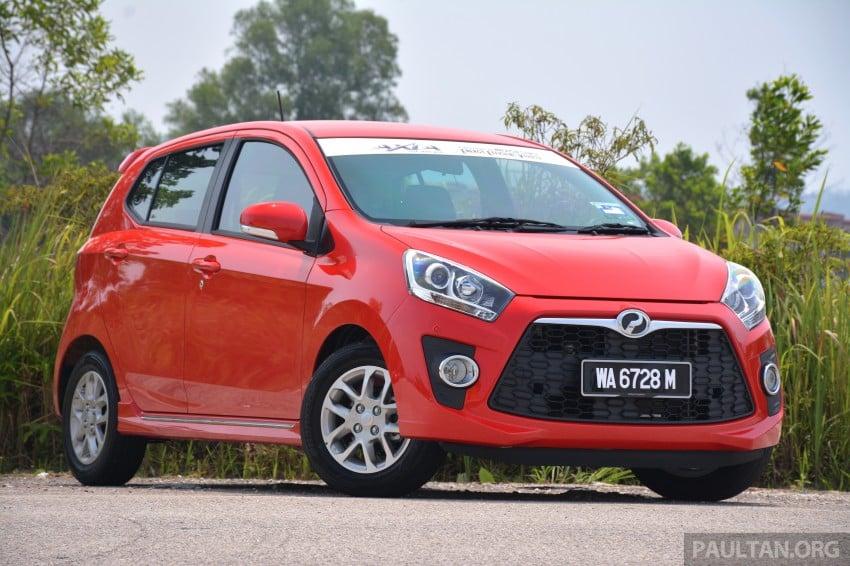 GALLERY: Perodua Axia Standard G vs Axia Advance Image #274407