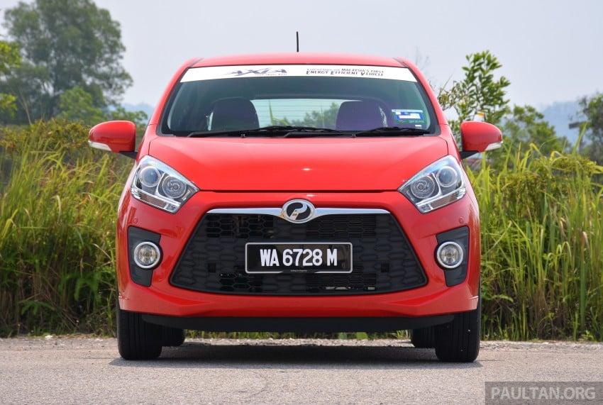 GALLERY: Perodua Axia Standard G vs Axia Advance Image #274409
