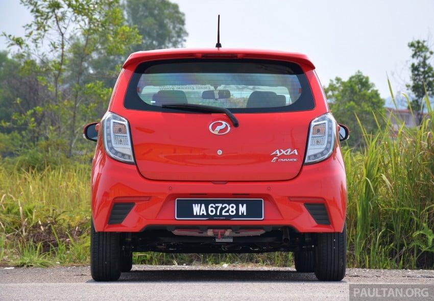GALLERY: Perodua Axia Standard G vs Axia Advance Image #274410