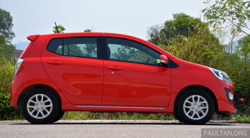 GALLERY: Perodua Axia Standard G vs Axia Advance Image #274411